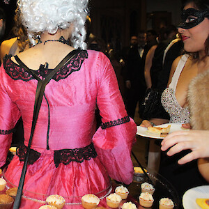 masquerade roaming table hire uk