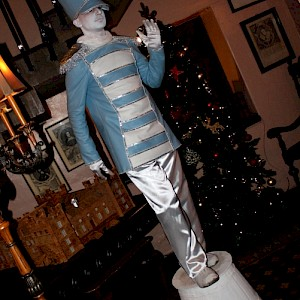 toy soldier human statue hire uk