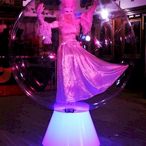 act in a bubble hire uk