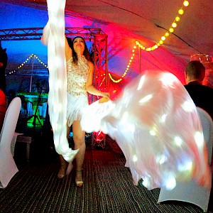 ice themed LED dancers hire uk