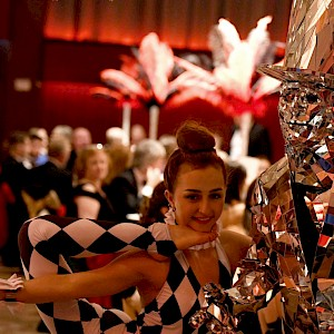 cirque du soleil themed entertainers hire uk