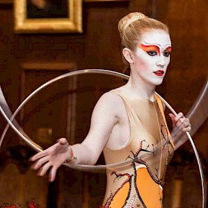 cirque du soleil themed event entertainment