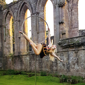summer outdoor aerial performer hire uk