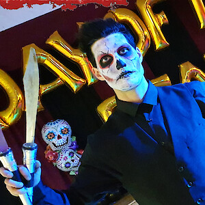 day of the dead knife juggler hire