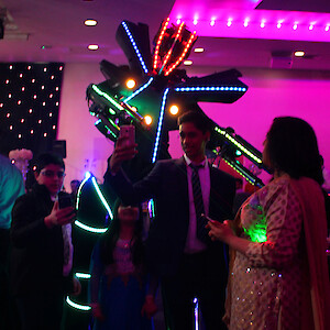 indian wedding robot hire uk