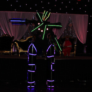 birmingham dancing wedding robot