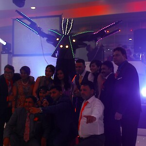 asian wedding robot hire uk