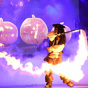 pirate fire act hire uk