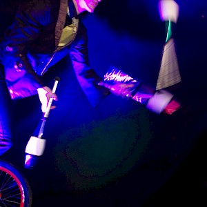 hire unicycle performer uk