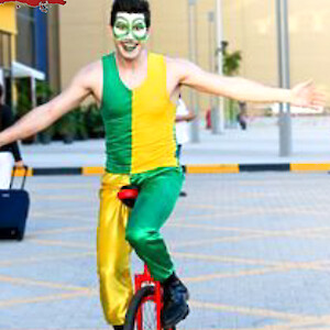 circus unicyclist hire
