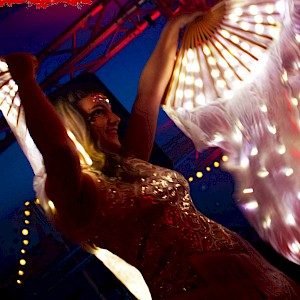 great gatsby themed dancers hire uk